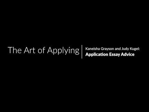 Harvard Kennedy School Application Essay Advice