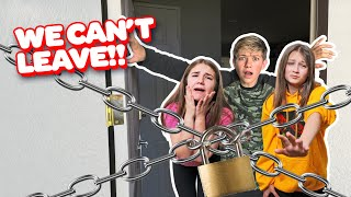 LAST TO Leave The Self Quarantine WINS w/ My CRUSH **Epic CHALLENGE** ❤️😷| Walker Bryant