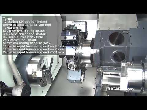 SMEC SL2500BSY CNC Turning Centre