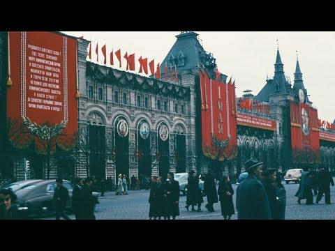 Stalins USSR in 1953, HQ 1080p Videos & Pictures, City and Rural life, Full Color