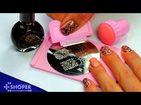 переводки рисунка на ногти