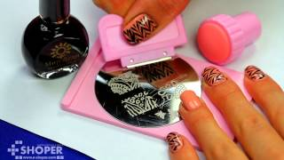 Стемпинг для ногтей (stamping nail art)