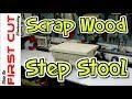 Scrap Wood Step Stool
