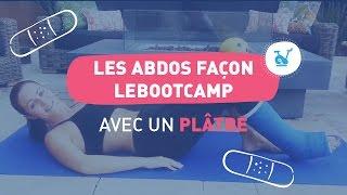 [FR] Faire du sport avec un pied dans le plâtre - Abdos façon LeBootCamp avec Valérie Orsoni