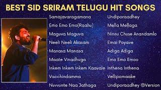 Best Sid Sriram Telugu Hit Songs | Latest Telugu Songs Collection | Sid Sriram Telugu Songs Jukebox