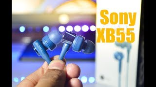 Sony XB55 Earphones Unboxing & Review Best Bass Earphones under 1500 ($30)