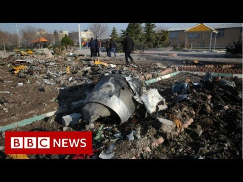 Iran plane crash: Western powers suggest missile downed jet - BBC News