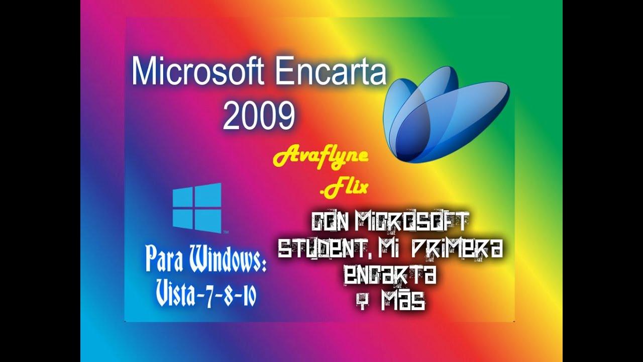 MICROSOFT ENCARTA 2009 GRATUIT VERSION FRANÇAIS GRATUIT