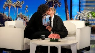 Howard Stern Gives Ellen an Unforgettable Kiss