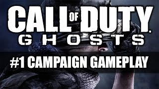 Call Of Duty Ghosts | Singleplayer GamePlay #1 | PC | 1080p