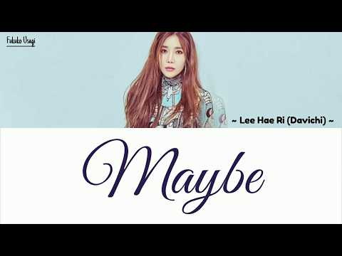 Lee Hae Ri (이해리) Davichi–Maybe Lyrics ~ Her Private Life OST Part 4