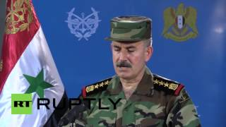 Syria: Army spokesperson confirms further gains in the fight against IS