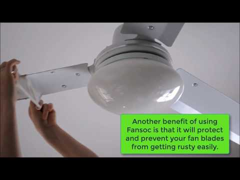 Removing and Installing Ceiling Fan Blade Covers| Ceiling Fan Covers