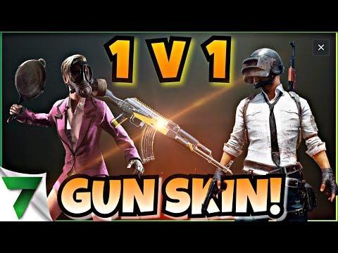 WIN A GUN SKIN IN 1v1 Custom Matches! Ep. 1 | PUBG Mobile