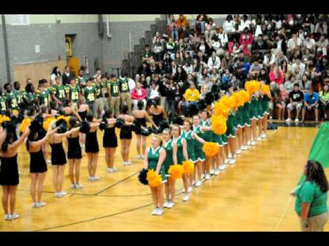 Clhs Pep Rally Fight Song 09 10 10 Cl Vs S Lafourche 038avi