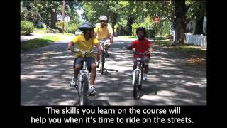 Basic Riding Skills -- PA Safe Routes Bicycle Safety Video #2