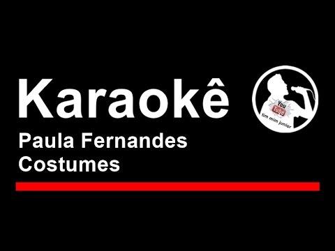 Paula Fernandes Costumes Karaoke