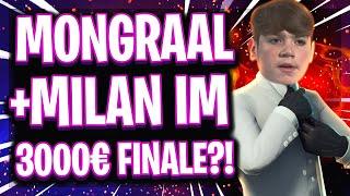 🏆😱💰BESTES DUO DER WELT IM FINALE?! | Mongraal + Milan 3.000€ Duo vs Squad Turnier Finale!