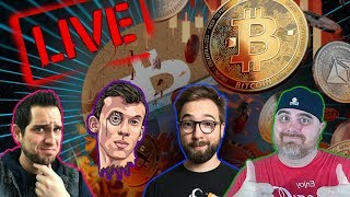 What's Happening with Crypto?!? BitBoy x Hashoshi x Crypto Fiend LIVE Stream | COMMUNITY CHAT 🚀$BTC