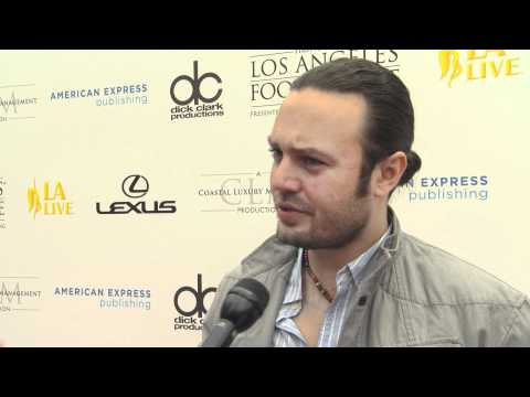 David Myers Interview at the LA Food & Wine Launch Event