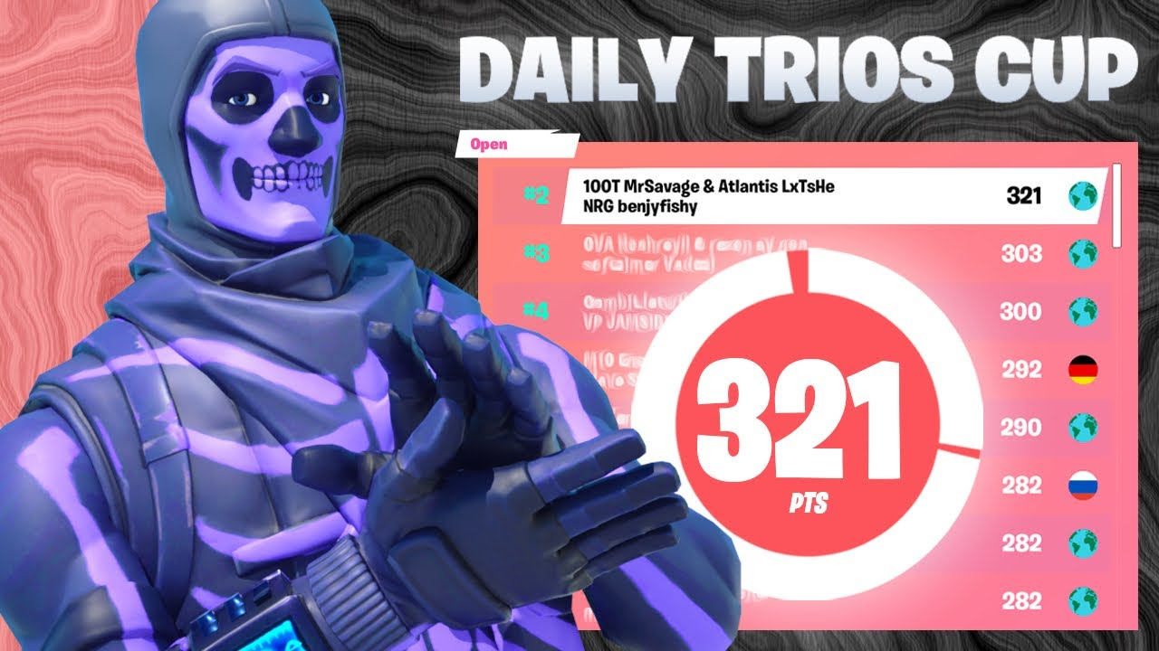 Download 2nd Place in Daily Trio Cup ($900) w/Benjyfishy & Letshe