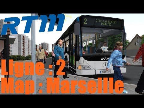 Map: Marseille Ligne 2 /////// Bus: Citaro O530 [OMSI2]