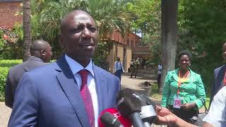 Ruto speaks to Azam TV