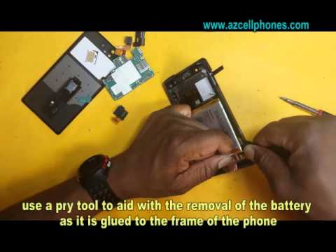 Sony Xperia Z - Battery Removal