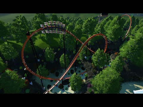 Firewatch | B&M Wing Coaster | Planet Coaster