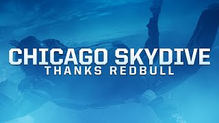 Chicago Skydive! Thank you Redbull :D