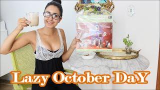 Lazy October Day: Pumpkin Spice Latte, Pumpkin Mask, Nails & Crafts