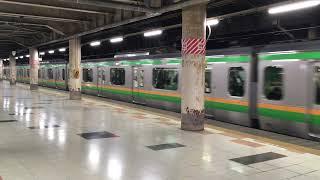 【たかさきせん】高崎線 E233系 + E231系(連結)快速 アーバン@上野駅