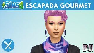 Nova Série? - Escapada Gourmet - The Sims 4 - Criando a Sim