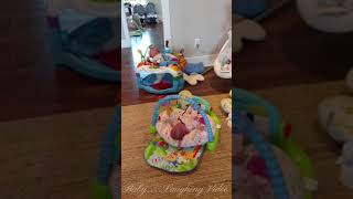 Four babies crying at the same time