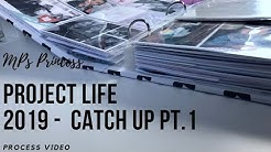 Project Life - Catch up 1. Half of Year (Deutsch)