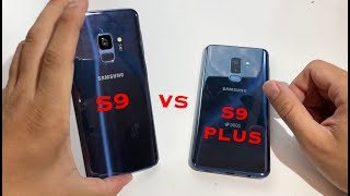 Galaxy S9 vs S9 Plus