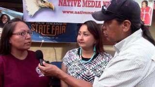 Deborah Tsosie & Tera Frank NIYC   Interview by Harlan McKosato