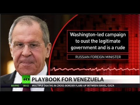 Lavrov slams 'rude' neocon 'playbook' on Venezuela