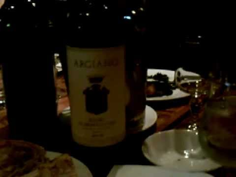 "Dinner at ""Bar Pitti""  New York  (Sommelier, Daniel Bellino Zwicke )"