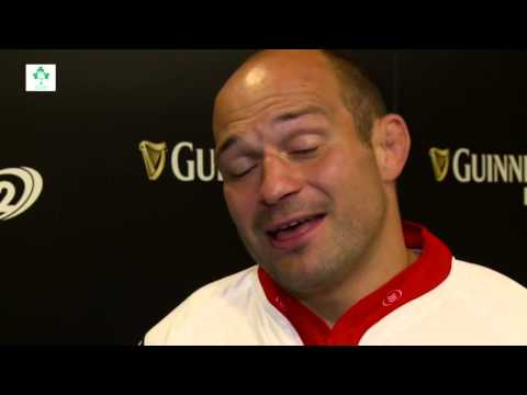 Rory Best At The PRO12 Launch