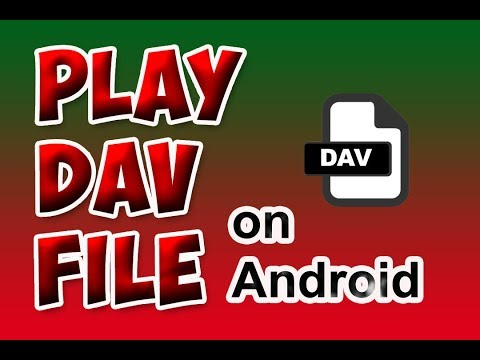 How To Play Dav File(CCTV Video File) Format On Android