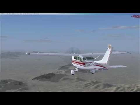 VFR. North Las Vegas to Furnace Creek. C206 Turbine!