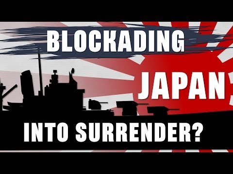 Why not blockade Japan into Surrender? (feat. D.M. Giangreco)