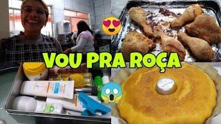PREPARATIVOS PARA VIAJAR + FIZ UM UM ALMOÇO PRA NÓS:ROTINA DE DONA DE CASA !!| CANTINHO DA MALU