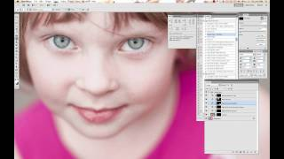Enhancing Eyes in Photoshop - Paint the Moon Sparkle Eyes