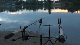 Рыбалка с ночевкой. Учусь как ловить карпа на ФЛЭТ-МЕТОД ФИДЕР. Прикормка на карпа. Вабик, Pop Up