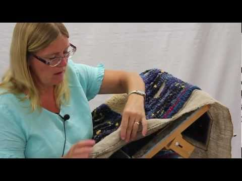 Part 2: Rug Hooking With Yarn By Susie Stephenson, Hands-on How