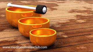 Restful Sleep: Soul Healing with Relaxing Music for Sleep  (with Tibetan Bowls every 3 minutes)