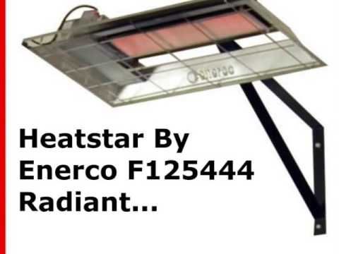 garage heaters heatstar by enerco f125444 radiant overhead garage heater h25ng natural gas - Natural Gas Garage Heater