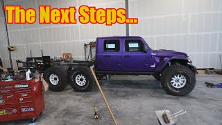 Jeep Gladiator 6x6 Conversion Update Video